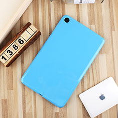 Coque Ultra Fine Silicone Souple Housse Etui S01 pour Xiaomi Mi Pad 4 Plus 10.1 Bleu Ciel