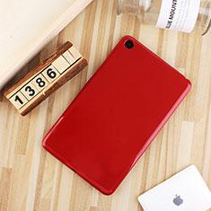 Coque Ultra Fine Silicone Souple Housse Etui S01 pour Xiaomi Mi Pad 4 Plus 10.1 Rouge