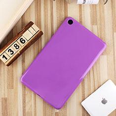 Coque Ultra Fine Silicone Souple Housse Etui S01 pour Xiaomi Mi Pad 4 Violet