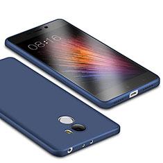 Coque Ultra Fine Silicone Souple Housse Etui S01 pour Xiaomi Redmi 4 Standard Edition Bleu