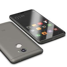 Coque Ultra Fine Silicone Souple Housse Etui S01 pour Xiaomi Redmi 4 Standard Edition Gris