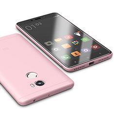 Coque Ultra Fine Silicone Souple Housse Etui S01 pour Xiaomi Redmi 4 Standard Edition Rose