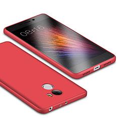 Coque Ultra Fine Silicone Souple Housse Etui S01 pour Xiaomi Redmi 4 Standard Edition Rouge