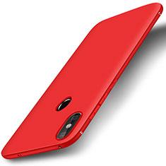 Coque Ultra Fine Silicone Souple Housse Etui S01 pour Xiaomi Redmi 6 Pro Rouge