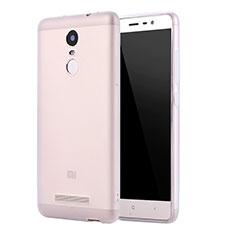 Coque Ultra Fine Silicone Souple Housse Etui S01 pour Xiaomi Redmi Note 3 Clair