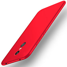 Coque Ultra Fine Silicone Souple Housse Etui S01 pour Xiaomi Redmi Note 5 Indian Version Rouge