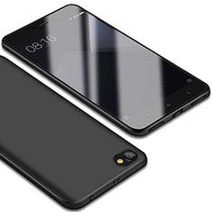 Coque Ultra Fine Silicone Souple Housse Etui S01 pour Xiaomi Redmi Note 5A Standard Edition Noir
