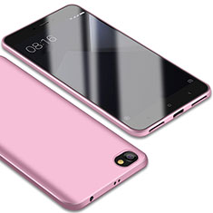 Coque Ultra Fine Silicone Souple Housse Etui S01 pour Xiaomi Redmi Note 5A Standard Edition Rose