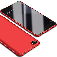 Coque Ultra Fine Silicone Souple Housse Etui S01 pour Xiaomi Redmi Note 5A Standard Edition Rouge