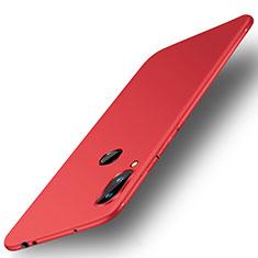 Coque Ultra Fine Silicone Souple Housse Etui S01 pour Xiaomi Redmi Note 6 Pro Rouge