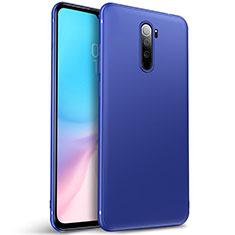 Coque Ultra Fine Silicone Souple Housse Etui S01 pour Xiaomi Redmi Note 8 Pro Bleu