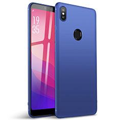 Coque Ultra Fine Silicone Souple Housse Etui S01 pour Xiaomi Redmi Y2 Bleu