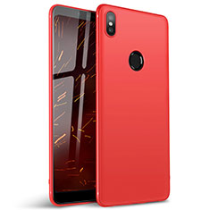 Coque Ultra Fine Silicone Souple Housse Etui S01 pour Xiaomi Redmi Y2 Rouge