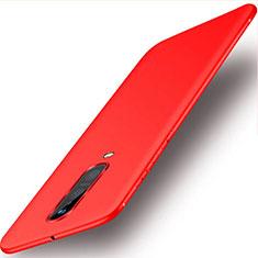 Coque Ultra Fine Silicone Souple Housse Etui S02 pour Oppo RX17 Pro Rouge