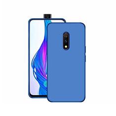 Coque Ultra Fine Silicone Souple Housse Etui S02 pour Realme X Bleu