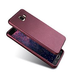Coque Ultra Fine Silicone Souple Housse Etui S02 pour Samsung Galaxy A5 (2016) SM-A510F Violet