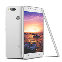 Coque Ultra Fine Silicone Souple Housse Etui S02 pour Xiaomi Mi 5X Blanc