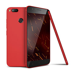 Coque Ultra Fine Silicone Souple Housse Etui S02 pour Xiaomi Mi 5X Rouge