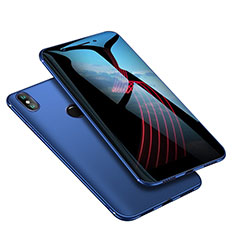 Coque Ultra Fine Silicone Souple Housse Etui S02 pour Xiaomi Mi 6X Bleu