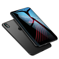 Coque Ultra Fine Silicone Souple Housse Etui S02 pour Xiaomi Mi 6X Noir