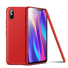 Coque Ultra Fine Silicone Souple Housse Etui S02 pour Xiaomi Mi 8 Explorer Rouge
