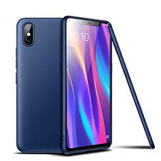 Coque Ultra Fine Silicone Souple Housse Etui S02 pour Xiaomi Mi 8 Pro Global Version Bleu