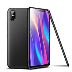 Coque Ultra Fine Silicone Souple Housse Etui S02 pour Xiaomi Mi 8 Pro Global Version Noir