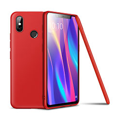 Coque Ultra Fine Silicone Souple Housse Etui S02 pour Xiaomi Mi 8 SE Rouge