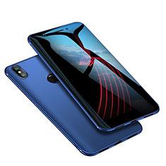 Coque Ultra Fine Silicone Souple Housse Etui S02 pour Xiaomi Mi A2 Bleu