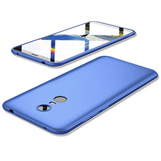 Coque Ultra Fine Silicone Souple Housse Etui S02 pour Xiaomi Redmi 5 Plus Bleu