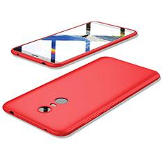 Coque Ultra Fine Silicone Souple Housse Etui S02 pour Xiaomi Redmi 5 Plus Rouge