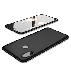 Coque Ultra Fine Silicone Souple Housse Etui S02 pour Xiaomi Redmi 6 Pro Noir