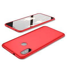 Coque Ultra Fine Silicone Souple Housse Etui S02 pour Xiaomi Redmi 6 Pro Rouge