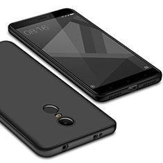 Coque Ultra Fine Silicone Souple Housse Etui S02 pour Xiaomi Redmi Note 4X Noir