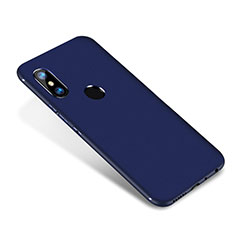 Coque Ultra Fine Silicone Souple Housse Etui S02 pour Xiaomi Redmi Note 5 AI Dual Camera Bleu