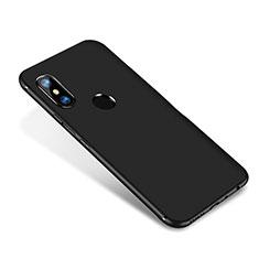Coque Ultra Fine Silicone Souple Housse Etui S02 pour Xiaomi Redmi Note 5 AI Dual Camera Noir
