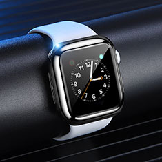 Coque Ultra Fine Silicone Souple Housse Etui S03 pour Apple iWatch 4 40mm Noir