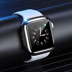 Coque Ultra Fine Silicone Souple Housse Etui S03 pour Apple iWatch 4 44mm Noir
