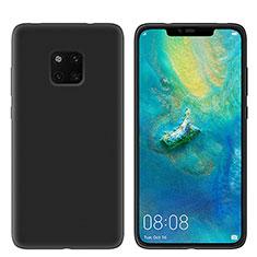 Coque Ultra Fine Silicone Souple Housse Etui S03 pour Huawei Mate 20 Pro Noir