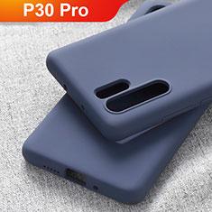 Coque Ultra Fine Silicone Souple Housse Etui S03 pour Huawei P30 Pro Bleu