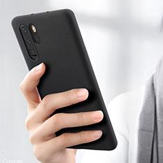 Coque Ultra Fine Silicone Souple Housse Etui S03 pour Huawei P30 Pro Noir