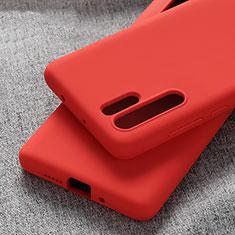 Coque Ultra Fine Silicone Souple Housse Etui S03 pour Huawei P30 Pro Rouge