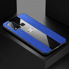 Coque Ultra Fine Silicone Souple Housse Etui S03 pour Vivo Y50 Bleu