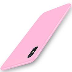 Coque Ultra Fine Silicone Souple Housse Etui S03 pour Xiaomi Mi 8 Explorer Rose