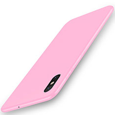 Coque Ultra Fine Silicone Souple Housse Etui S03 pour Xiaomi Mi 8 Pro Global Version Rose