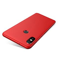 Coque Ultra Fine Silicone Souple Housse Etui S03 pour Xiaomi Redmi Note 5 Pro Rouge