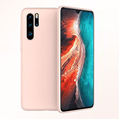 Coque Ultra Fine Silicone Souple Housse Etui S04 pour Huawei P30 Pro Or Rose