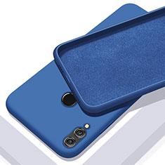 Coque Ultra Fine Silicone Souple Housse Etui S05 pour Huawei Honor 10 Lite Bleu