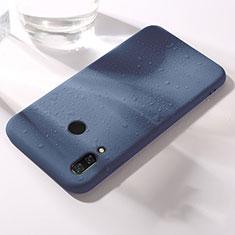 Coque Ultra Fine Silicone Souple Housse Etui S05 pour Huawei Honor V10 Lite Bleu