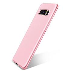 Coque Ultra Fine Silicone Souple Housse Etui S05 pour Samsung Galaxy Note 8 Duos N950F Rose